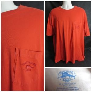 Tommy Bahama Embroidered Men 2XL Tee Shirt